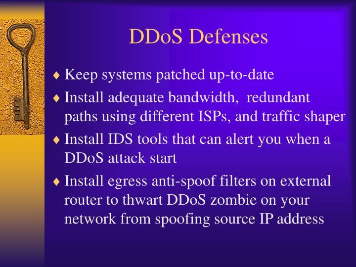 DDoS Defenses