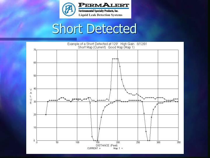 Short Detected