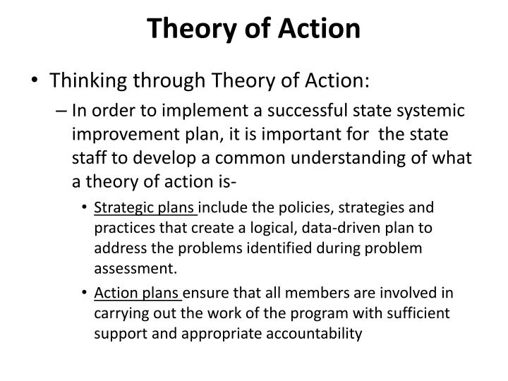 Theory of Action