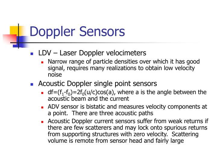 Doppler Sensors