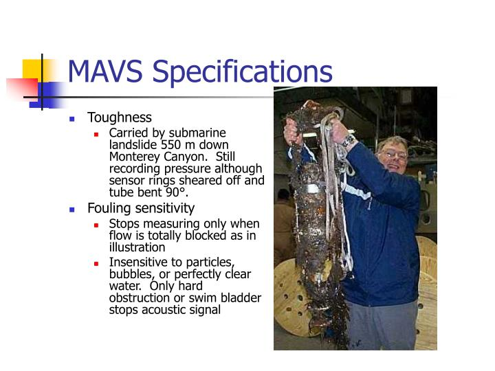 MAVS Specifications