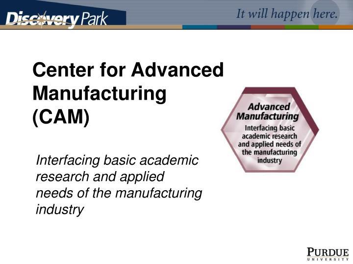 Center for Advanced