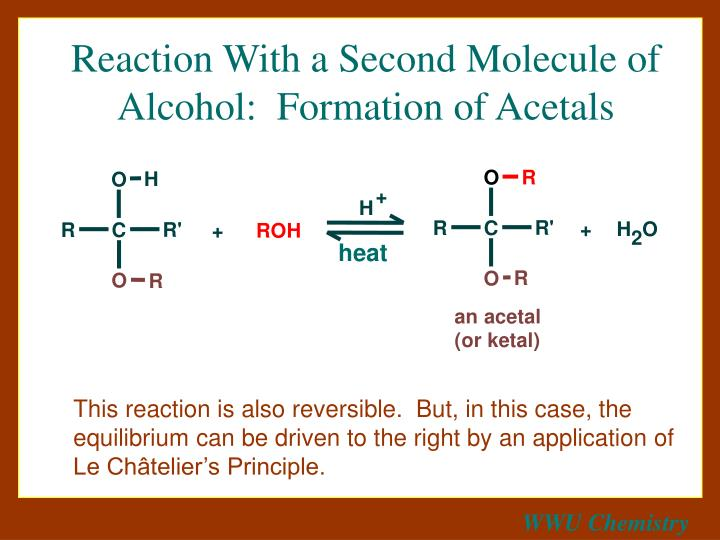 Reaction With a Second Molecule of Alcohol:  Formation of Acetals