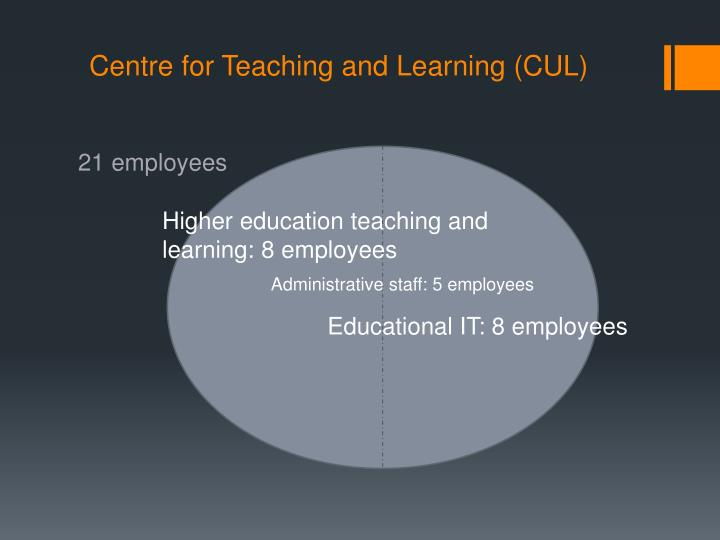 Centre for Teaching and Learning (CUL)