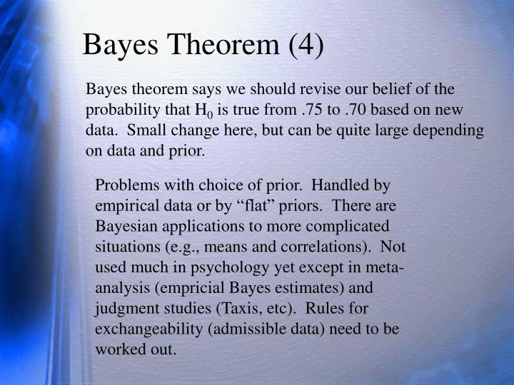 Bayes Theorem (4)