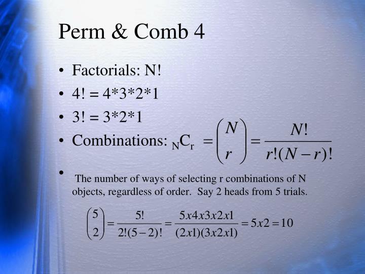 Perm & Comb 4
