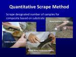 quantitative scrape method2