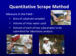 quantitative scrape method3