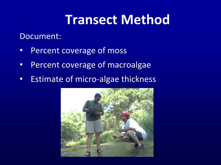 Transect Method
