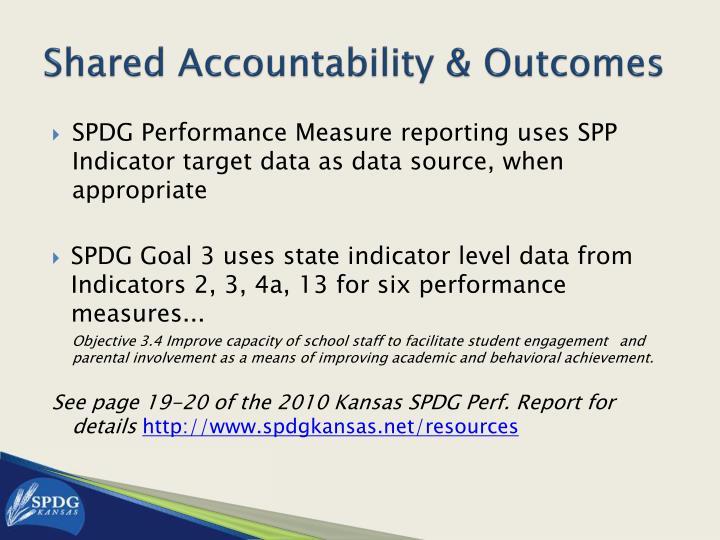 Shared Accountability & Outcomes