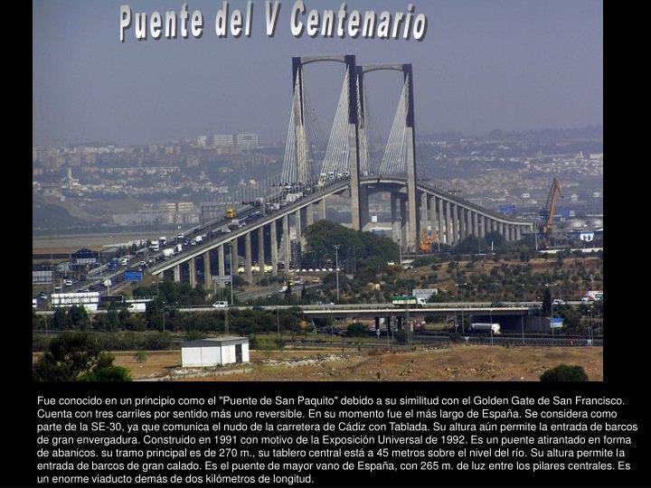 Puente del V Centenario