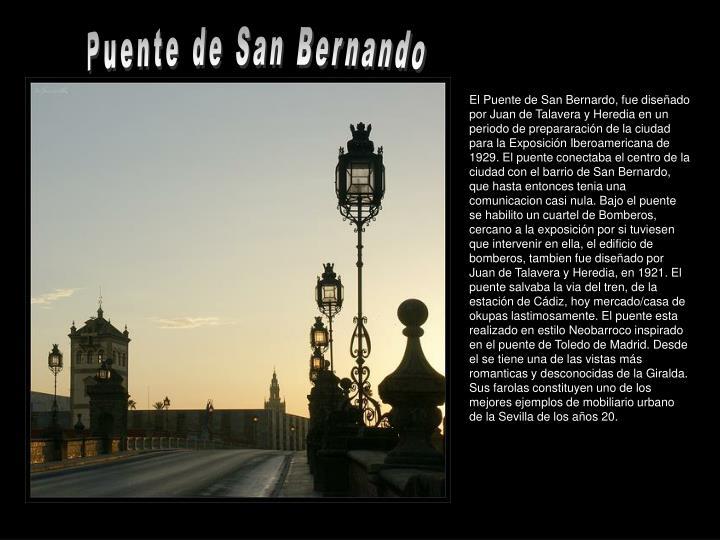Puente de San Bernando