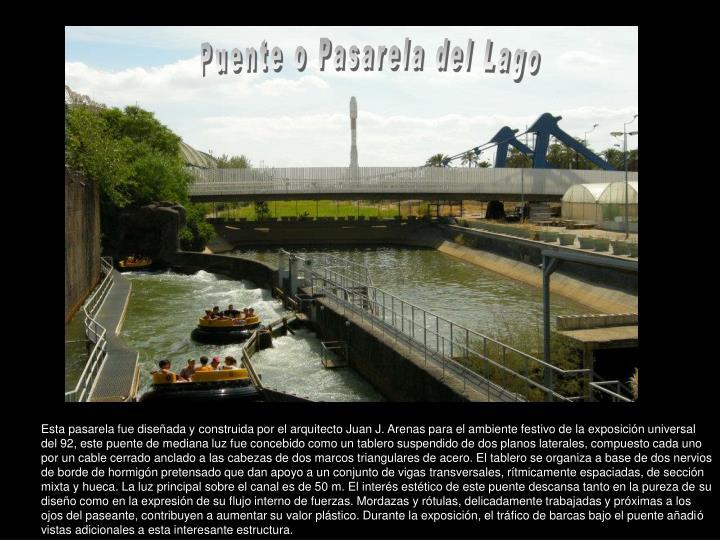 Puente o Pasarela del Lago