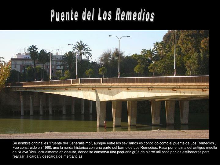Puente del Los Remedios