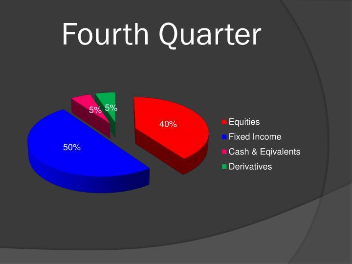 Fourth Quarter