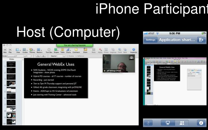 iPhone Participant