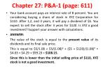 chapter 27 p a 1 p age 611