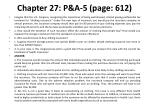 chapter 27 p a 5 p age 612