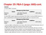 chapter 29 p a 5 p age 660 cont