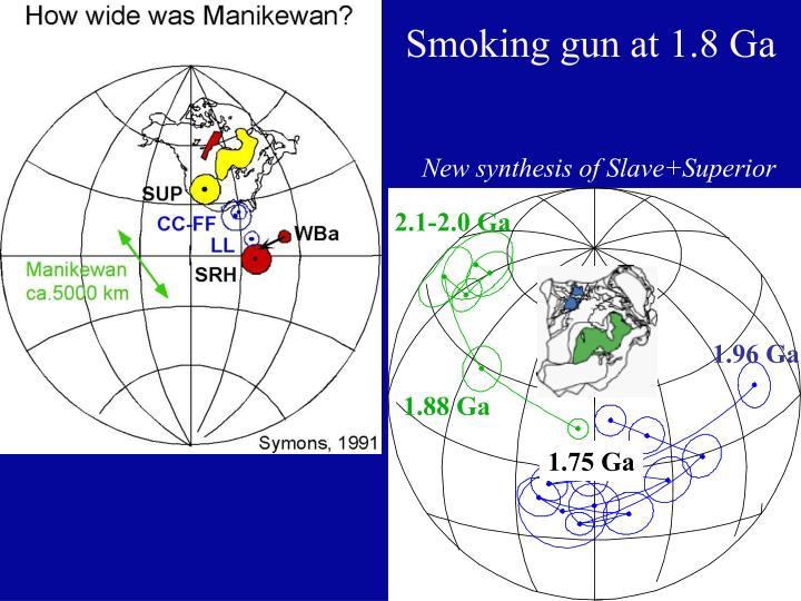 Smoking gun at 1.8 Ga