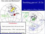 smoking gun at 1 8 ga1