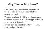 why theme templates