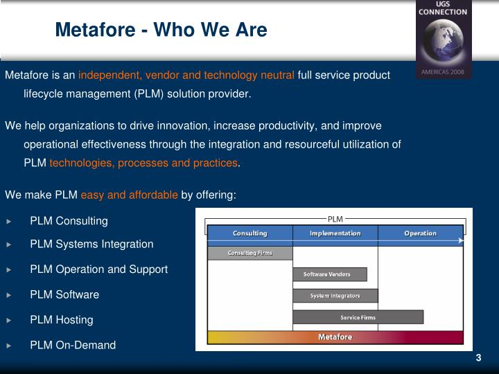 Metafore - Who We Are