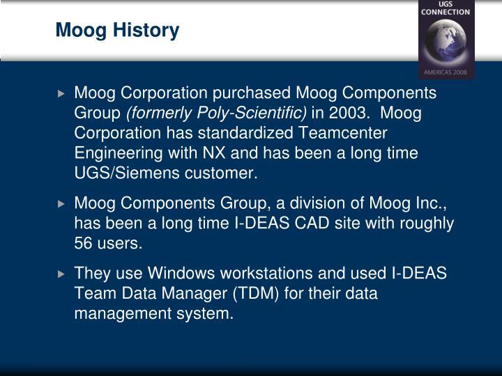 Moog History