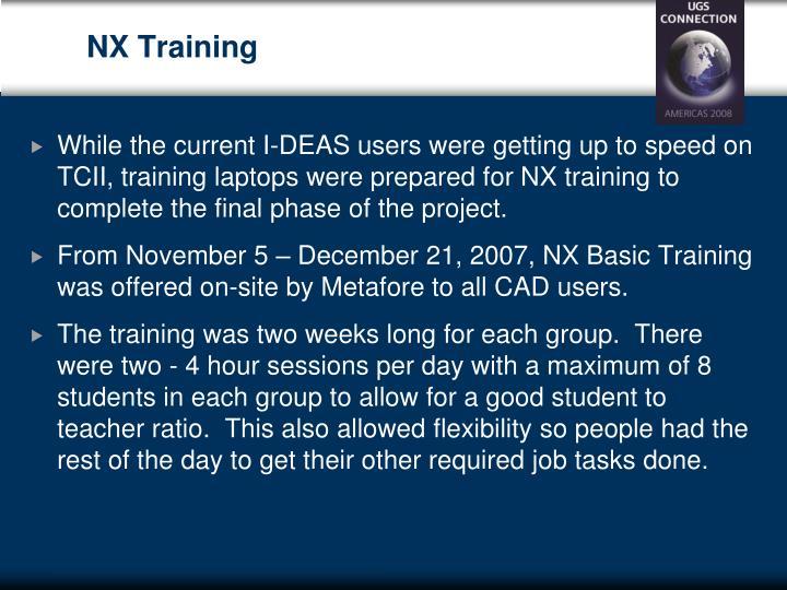 NX Training