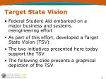 target state vision