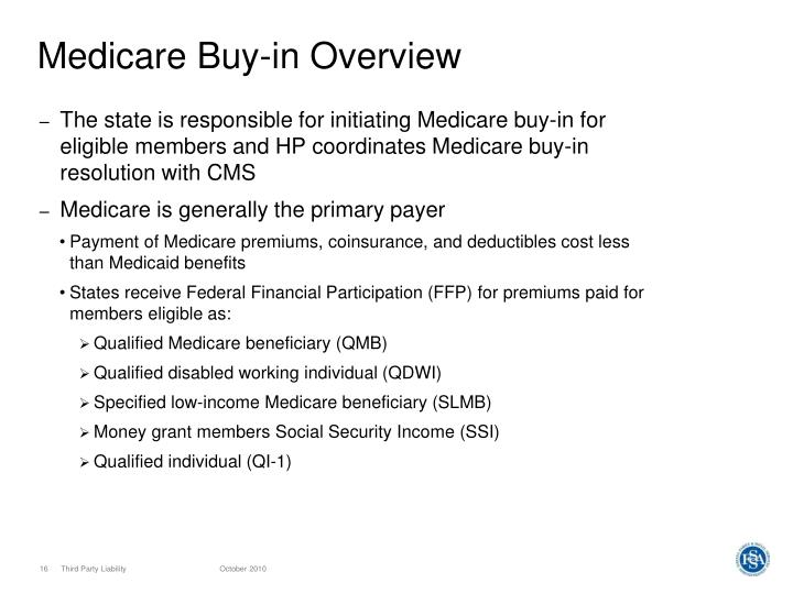 Medicare Buy-in Overview