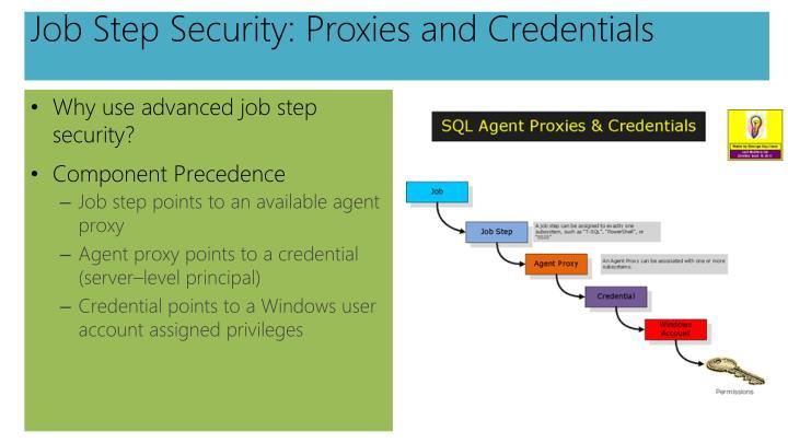 Job Step Security: Proxies