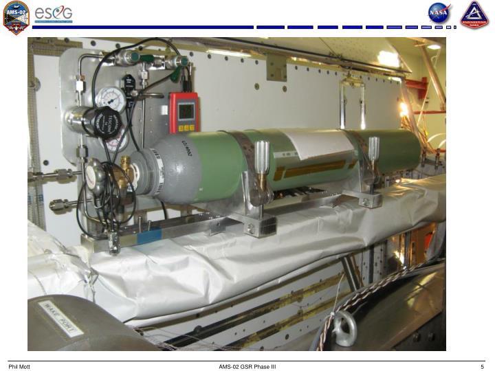 AMS-02 GSR Phase III