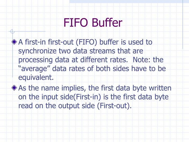 FIFO Buffer