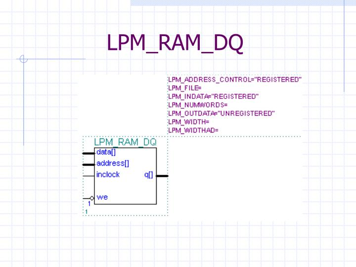 LPM_RAM_DQ