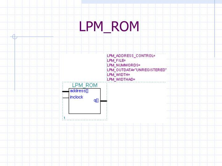 LPM_ROM