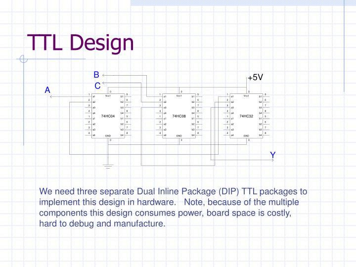 TTL Design
