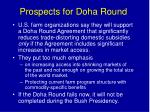 prospects for doha round