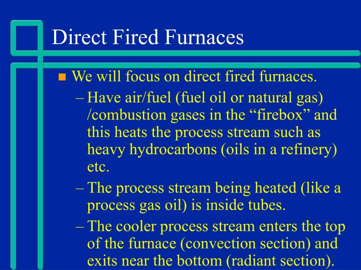 Direct Fired Furnaces