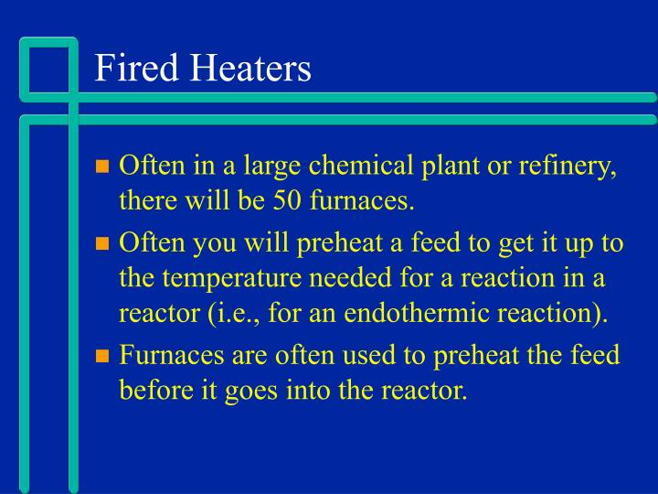 Fired Heaters