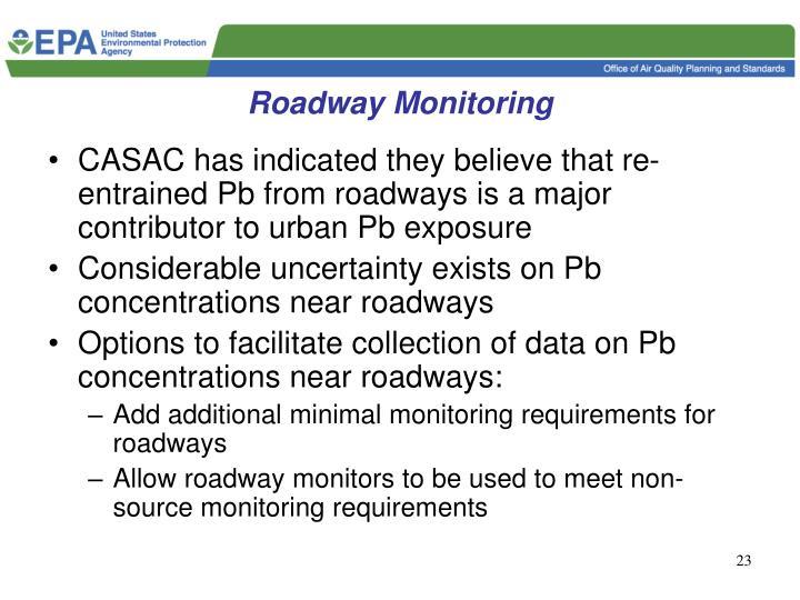 Roadway Monitoring