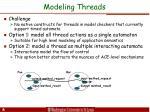 modeling threads