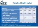 results health status