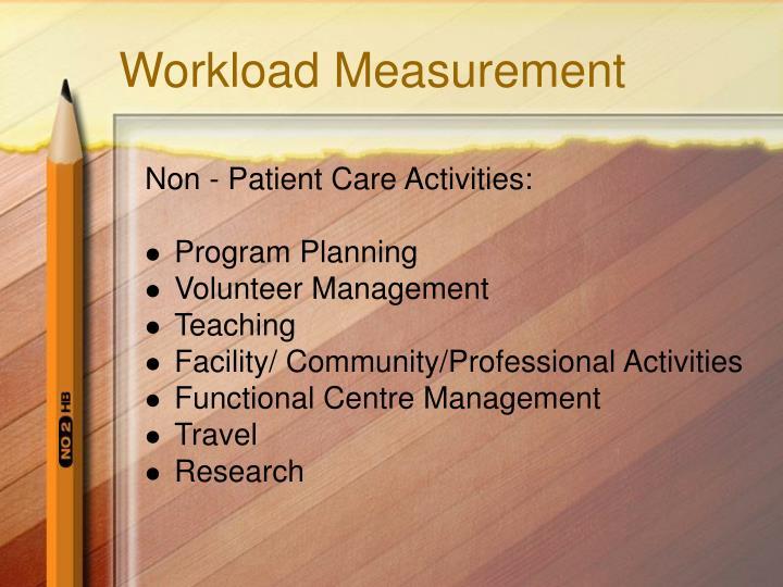 Workload Measurement