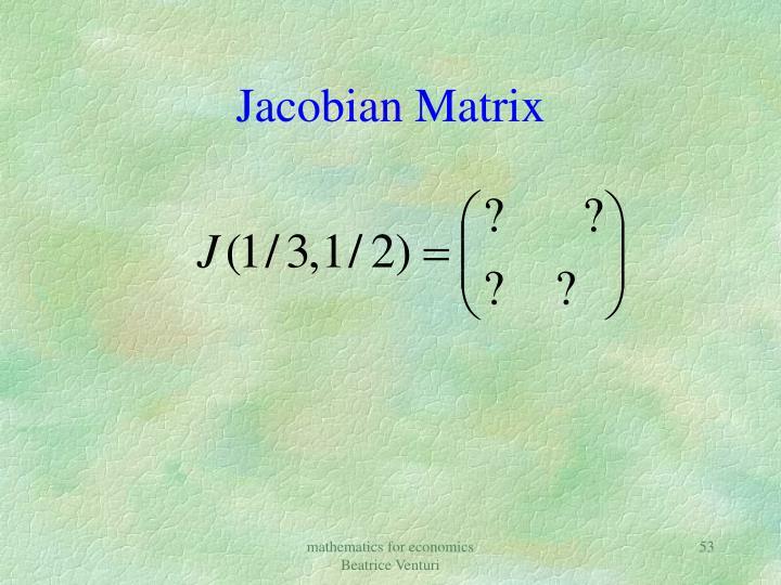 Jacobian
