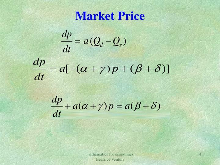 Market Price
