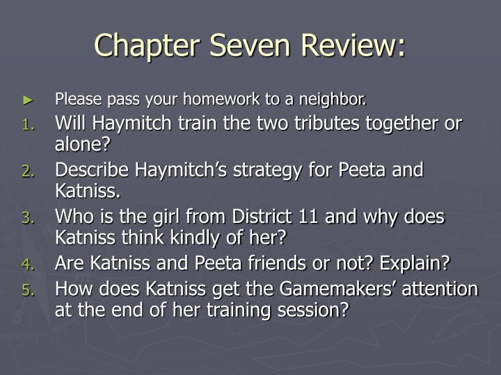 Chapter Seven Review: