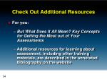 check out additional resources1