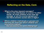reflecting on the data cont1