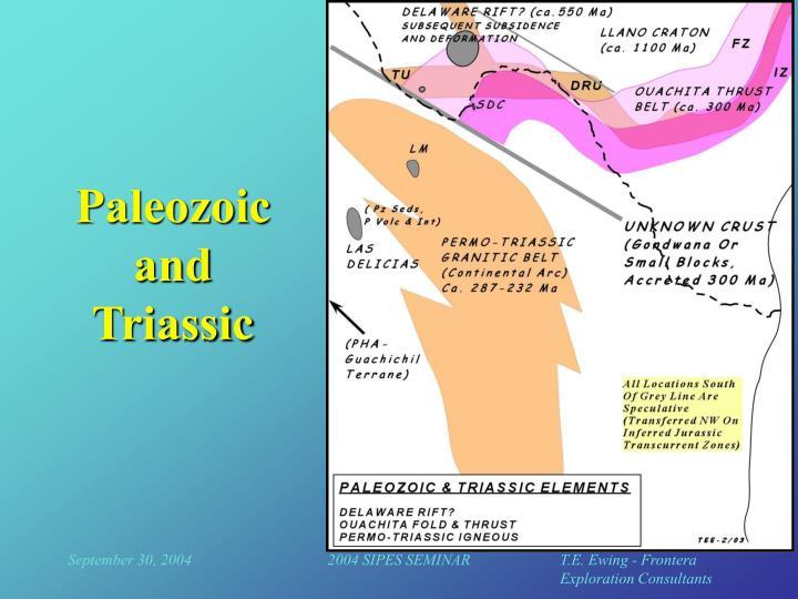 Paleozoic and